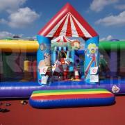 Hüpfburgverleih mit Multiplay Circus Center