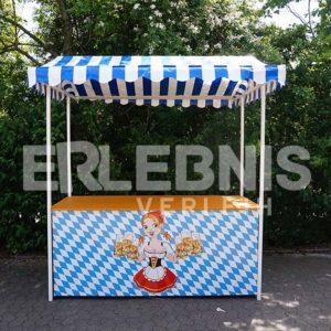 Der klassische Martktstand im Okoberfest-Design von Erlebnisverleih.de