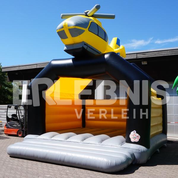 Hubschrauber-Hüpfburg vom Hüpfburgverleih