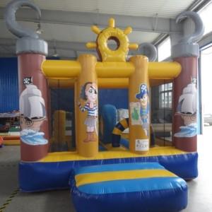 Piraten-Springburg für Kinder bis 6 Jahre