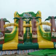 Aufblasbare Riesenrutsche Jungle Slide