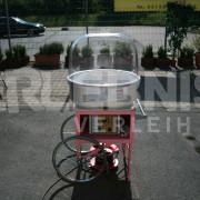 Fahrbare Zuckerwattemaschine