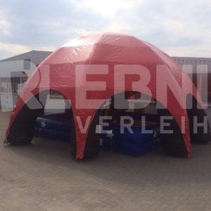 Aufblasbares Zelt mit Bullriding-Anlage