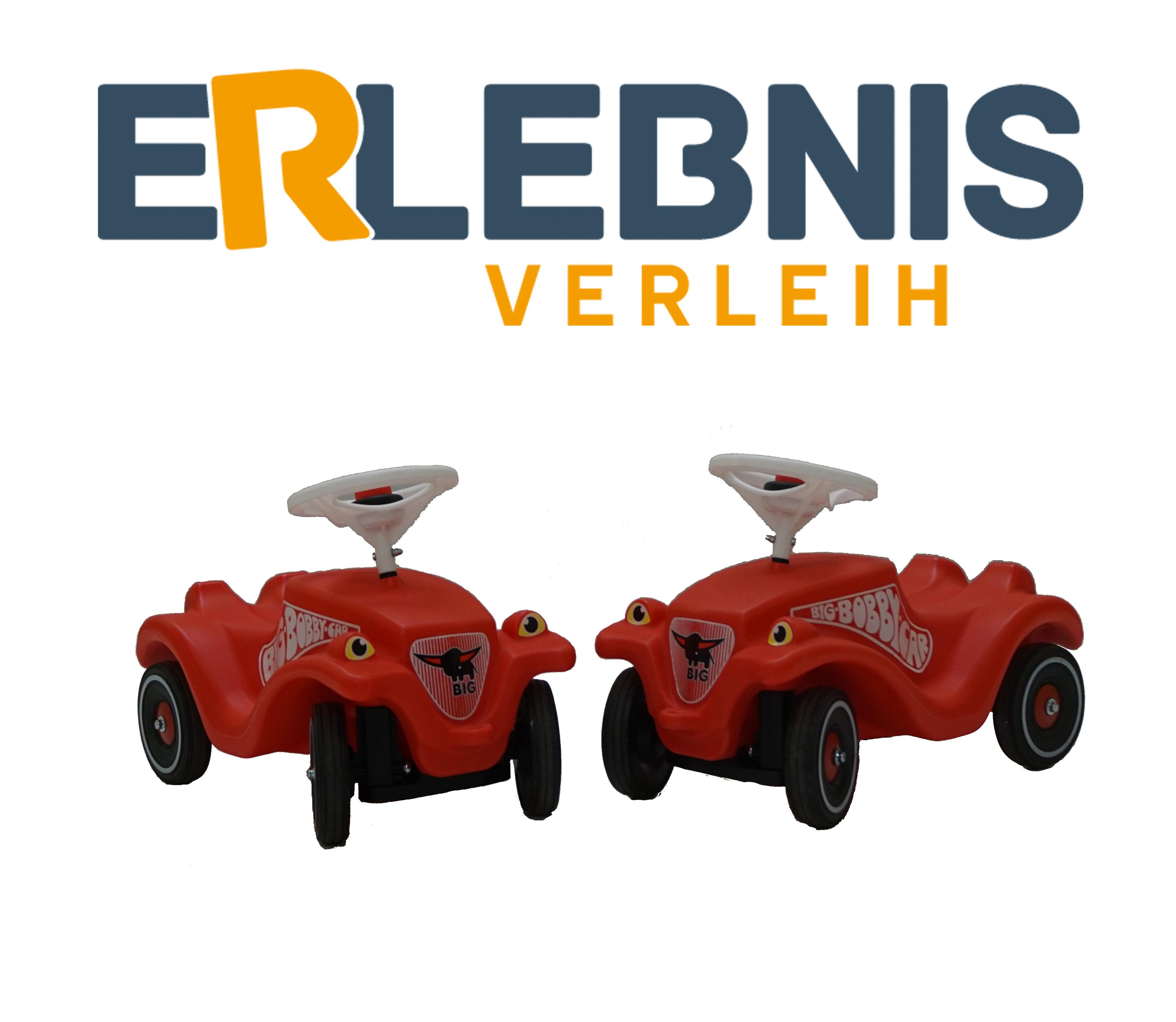 Bobbycars mit mobiler Kartbahn mieten