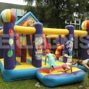 Zirkus-Hüpfburg Multiplay